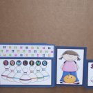 Bowling Girl-5pc Mat Set