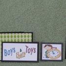 Boys & Their Toys-5pc Mat Set