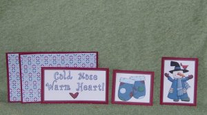 Cold Nose Warm Heart-5pc Mat Set