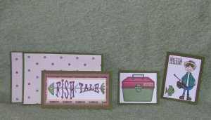 Fish Tales-5pc Mat Set