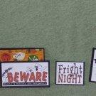 Fright Night 2-5pc Mat Set