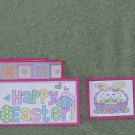 Happy Easter Bunnies-5pc Mat Set
