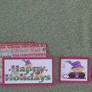 Happy Holidays jr-5pc Mat Set