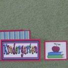 Kindergarten-5pc Mat Set
