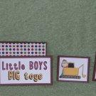 Little Boys Big Toys-5pc Mat Set