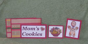 Mom's Cookies-5pc Mat Set