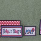 Shooting Hoops-5pc Mat Set