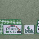 St Patrick's Day Girl-5pc Mat Set