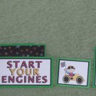 Start Your Engines-5pc Mat Set