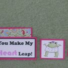 You Make My Heart Leap-5pc Mat Set