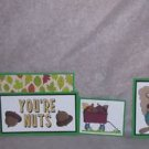 You're Nuts-5pc Mat Set
