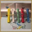 """2000 pcs 4"""" Paper Twist Tie - 5 Colors for your Choice"""