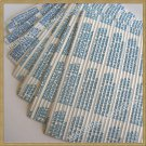 """300pcs Plastic/Paper 5"""" Gang Twist Ties for general use"""