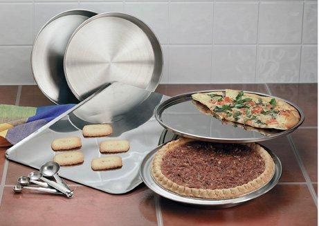 KTBAKE -Maxam 10pc Stainless Steel Bakeware Set.