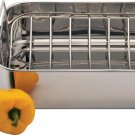KTROAST8 - Precise Heat 18/10 Stainless Steel Roasting Pan