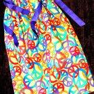 Peace Out Pillowcase Dress