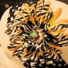 Gerbera Zebra and Yellow Daisy Clippie