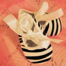 Zebra Crib Shoes