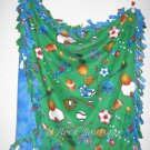 All Sports Tie Knot Blanket