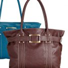 Brown: Butler Organizer Tote Bag with Purse Dividers - Avon