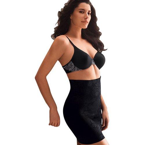 Large: Black BALI Powershape Waist Contouring Half Slip - Avon