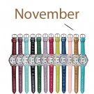 November Pavé Bezel Birthstone Watch - Avon