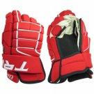 "Elite Series Tron Hockey Gloves Size 13"" (RED)"