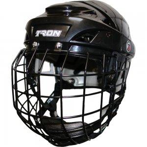 "20K Senior Hockey Helmet Small w/ Cage 21.25"" - 22.8"" (Black)"