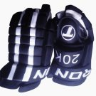 "Elite 20K Senior Hockey Gloves Size 15"" (NAVY)"