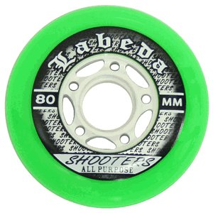 Labeda Shooter Multi Surface Hockey Wheels Set 8-80mm 78A