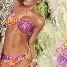2012 Paradizia Swimwear Sunshine Bandeau Bikini