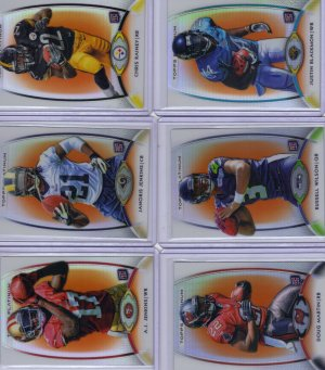 2012 Topps Platinum orange refractor lot
