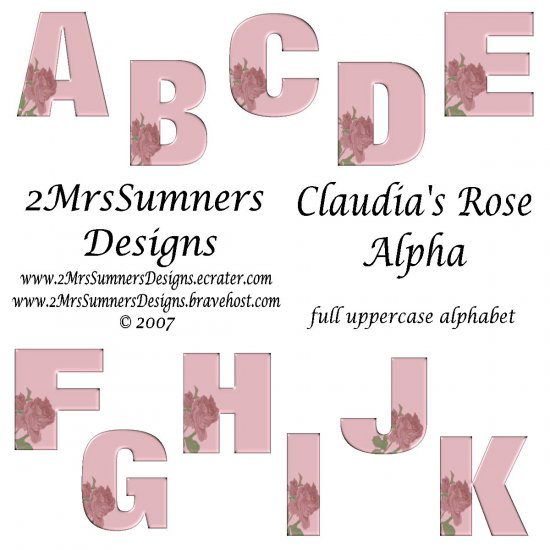 Claudia's Rose Alpha