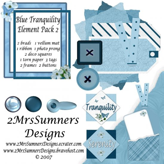 Blue Tranquility  Element Pack 2