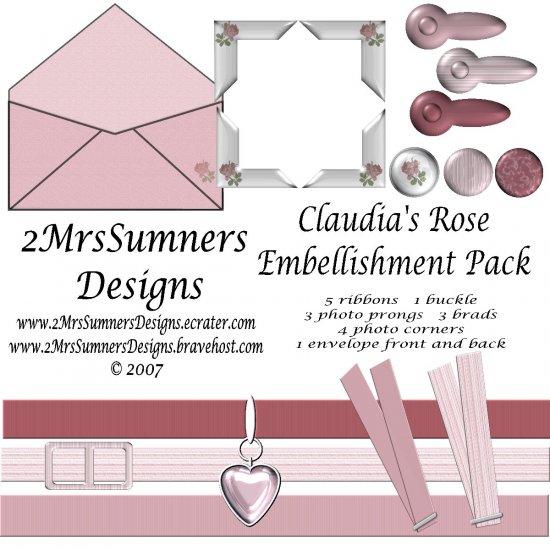Claudia's Rose Embellishments