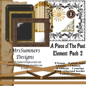 A Piece of the Past Element Pack 2
