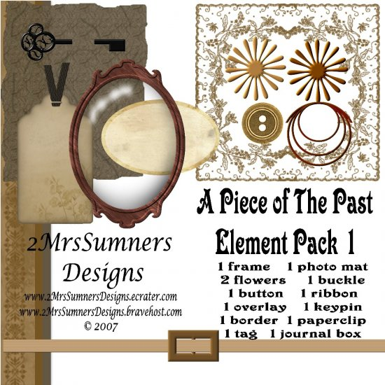 A Piece of the Past Element Pack 1