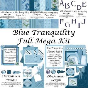 Blue Tranquility  (Full Kit)