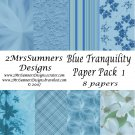 Blue Tranquility Paper Pack 1