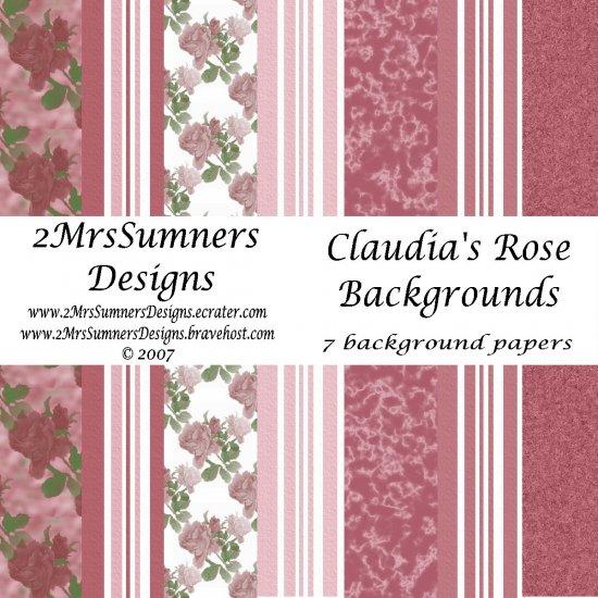 Claudia's Rose Paper Pack