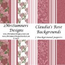 Claudia's Rose Paper Pack