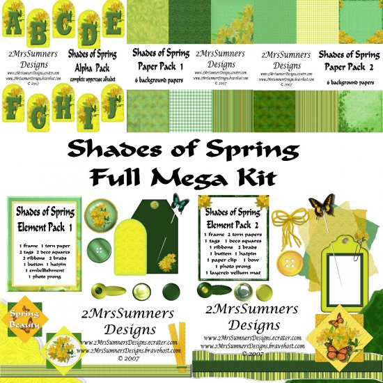 Shades of Spring (Full Kit)