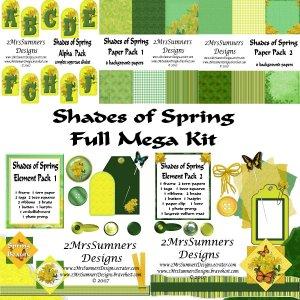 Shades of Spring (Full Kit)