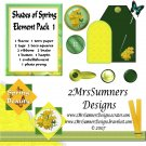 Shades of Spring Element Pack 1
