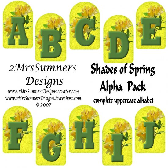 Shades of Spring Alpha