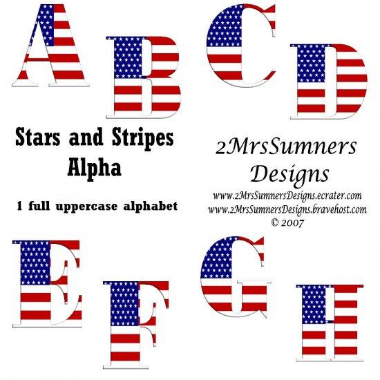 Stars and Stripes Alpha