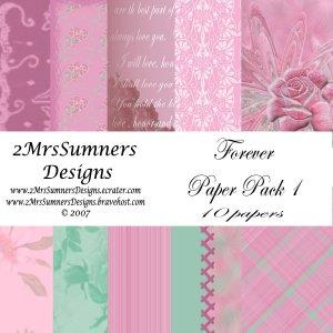 Forever Paper Pack 1