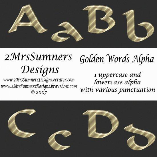 Golden Words Alpha