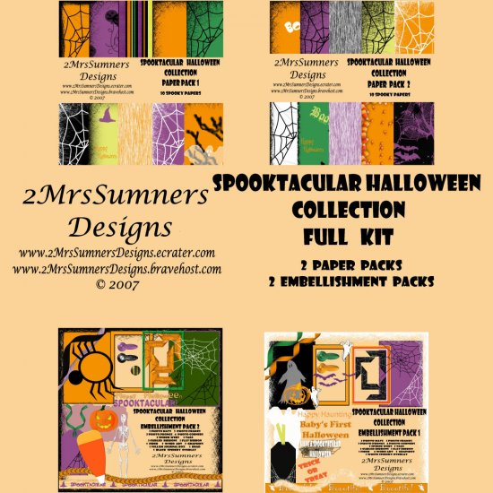 Spooktacular Halloween Collection (Full Kit)