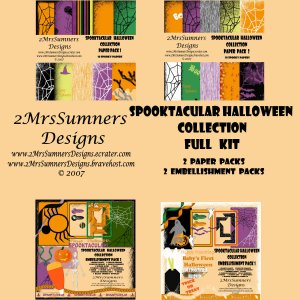 Spooktacular Halloween Collection (Full Kit)